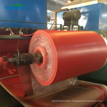 acid and alkali resistant red natural sbr rubber sheet roll