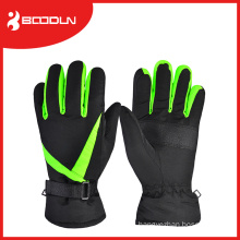 Heated Winter Customed Snowmobile Leather Ski Gloves for Mens