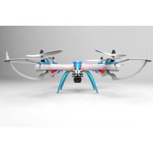 Últimas quadriciclo sem cabeça brinquedos 2.4G 4CH tarantula x6 distância de controle drone longo com câmera HD
