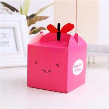 Boîte adaptée aux besoins du client d'emballage de cadeau de papier de Noël coloré