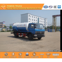 Dongfeng 10000L Vacuum Pump Truck Cummins Engine