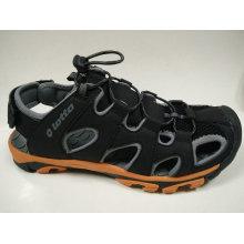 Big Size Herren Leder Sport Sandalen Freizeitschuhe