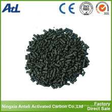 Acid washed activated carbon based on coal