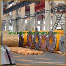 Laminado en frío ASTM 316L 2b Acabado de bobinas de acero inoxidable