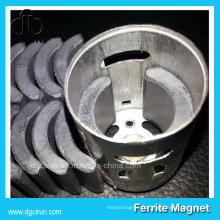 Aimants de moteur en céramique de ferrite de taille faite sur commande