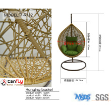 Foshan Shunde factory direct produced wicker hanging ball chair top quality.