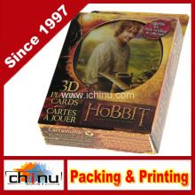 Le Hobbit un voyage inattendu (100% plastique) 3D Cartes à jouer (430190)