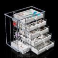Customized Customized clear acrylic jewelry organizer.