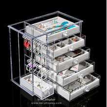 Customized Customized clear acrylic jewelry organizer