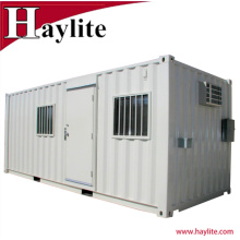 Здание стальной контейнер модификация панельного дома с уборной кровать и т. д