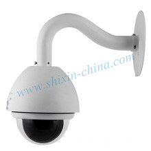 H. 264 10X Optical/Digital Zoom Day/Night PTZ CCD IP Camera (IP-650H)