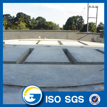 Flat Bottom Silo With Sweep Auger Concrete Silo