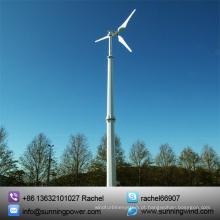 Energia de energia eólica de turbinas eólicas pequenas 5000W para família em casa