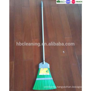 wholesale plastic outdoor broom, leaf broom with long handle