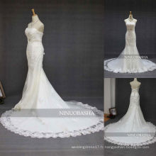 NW-348 Sweetheart Neckline Applique Mermaid Robe de mariée 2013