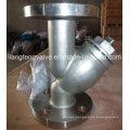 ANSI / ASME de extremo con brida Y-Strainer, RF de acero inoxidable