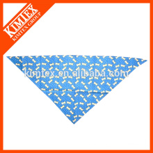 Fashion customized triangle screen printed bandana
