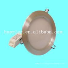Высокая мощность DC12-24v AC100-240v 3w / 9w / 12w / 15w / 18w алюминий 15w низкий профиль светодиодный потолочный светильник