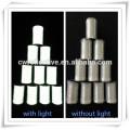 bordado reflexivo luminoso de prata da linha para a roupa e as peúgas