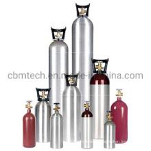 DOT-3al/ISO7866/En1975 (TPED) Aluminum Gas Cylinders Series