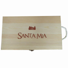 Custom Gift Wooden Box for Package/Jewelry/Wine/Tea (W10)