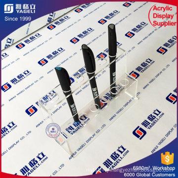 Desktop Wholesale Acrylic Pen Pencil Display Stand