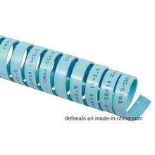 Tira fenólica da guia da resina em selos de cilindro do grande diâmetro
