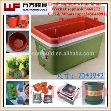 China Taizhou OEM Cheap Custom Planters Pot mold/Custom plastic Planters Pot mold/plastic mold for Planter Pot