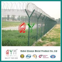 Valla de malla de alambre para aeropuerto / valla de seguridad fronteriza