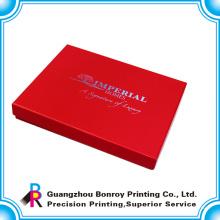 El mejor logotipo de encargo de la boutique imprimió cajas de joyería grandes al por mayor