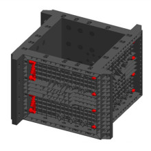 Professional plastic formwork for construction with CE certificate