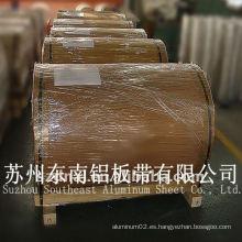 Plata aa5083 h24 bobina de aluminio / tira