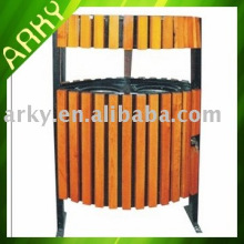 Good quality Outdoor Wooden Recycle Bin