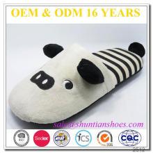 Hot selling panda design animal floor slipper