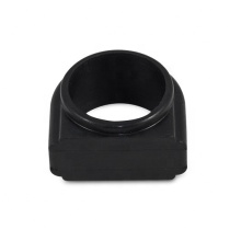 Joint d'étanchéité en caoutchouc silicone noir élastique personnalisé