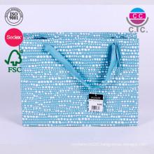 hot selling sets of 5 alibaba china blue paper bag wholesale