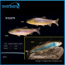 Grande taille 20 cm/30 cm de pêche au leurre souple