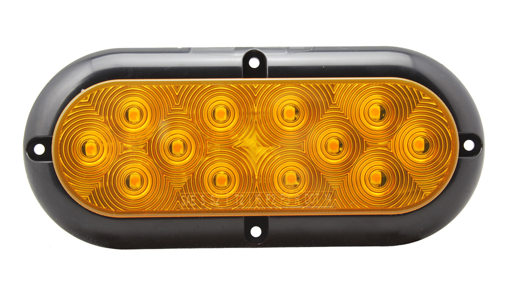 "6"" DOT 10-30V LED Trailer Truck Tail Lamps"