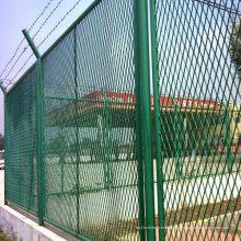 Grüne Farbe Kette Link High Fence Netting