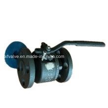 150lb forjou a válvula de bola da extremidade da conexão da flange do aço carbono A105