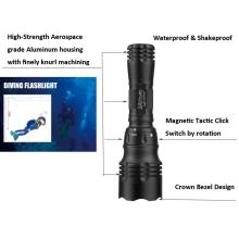 Diving Torch CREE LED 5 Mode Memory