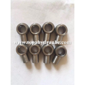 Steel metric hydraulic hose end banjo fittings