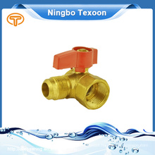 PTFE, NBR Seal material gas ball valve