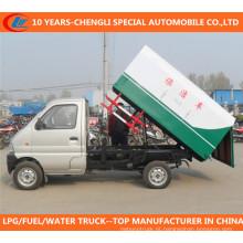 Caminhão de lixo Mini 4X2 Caminhão de lixo Changan Caminhão de lixo