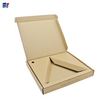 Simple Paper Gift Box With Paper Insert