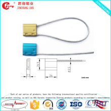Jccs-008 sello mecánico estilo y metal, aleación de aluminio material cable sello de alambre para sello de contenedor
