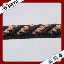 Zhejiang Hangzhou Corda decorativa para decoração de sofá ou acessórios de decoração têxtil casa, cordão decorativo, 6mm