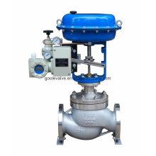 Пневматическое единственное место земного шара, регулирующий поток Клапан типа (GHTC)
