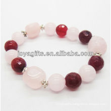 Natural stone beads stretch bracelet gemstone beads bracelet SB0032
