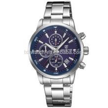skone dic-steel band case japan movement quartz watch/business style watch